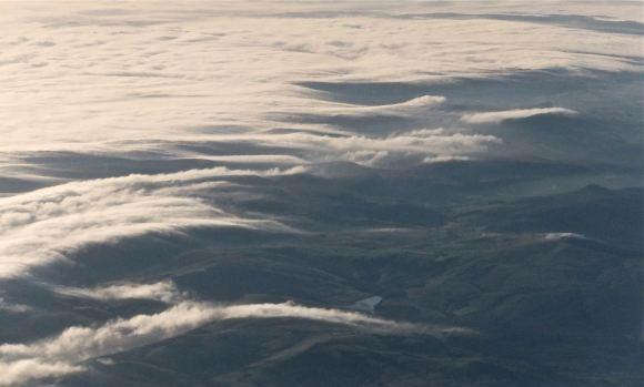 Pennines in mist, 21/10/12