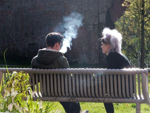 Smoke break, 9/10/12