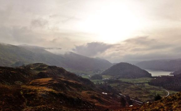 View from High Rigg, 24/11/12