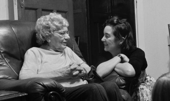 Clare and Gran W, 30/12/12
