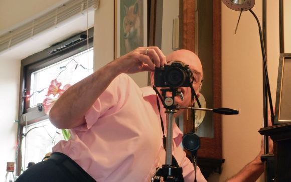 Dad behind camera, 23/12/12