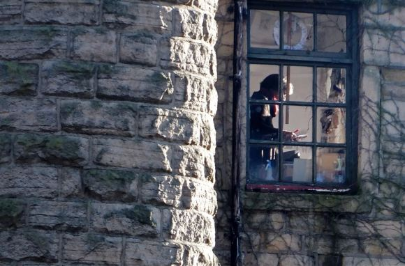 Figure at window, 1/12/12