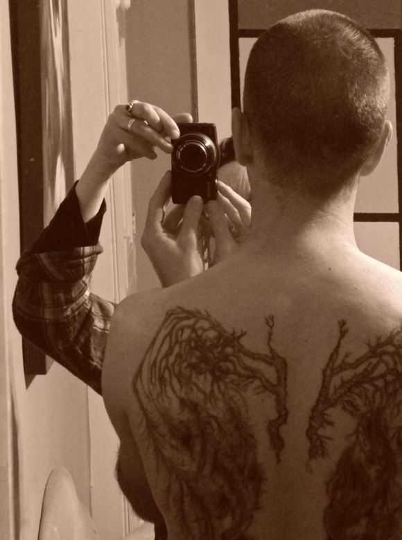 Completed tattoo, 20/1/13