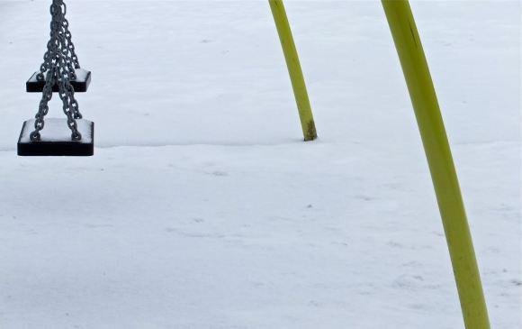 Snowy playground, 18/1/13