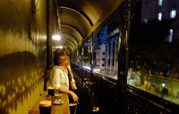 Debs on balcony, 11/2/13
