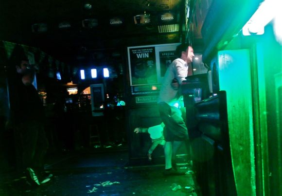 Gilhooley's pub, 17/3/13