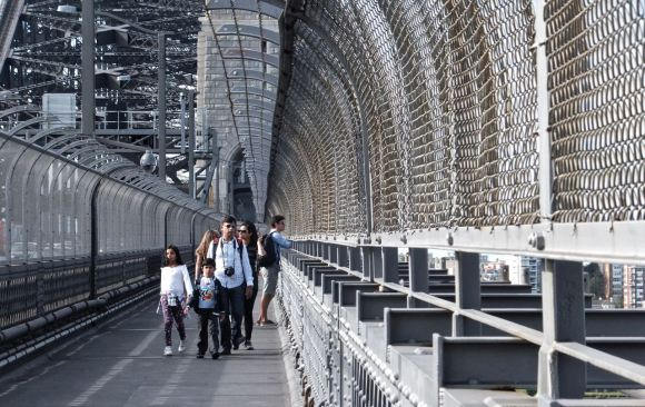 Sydney Harbour Bridge, 31/3/13