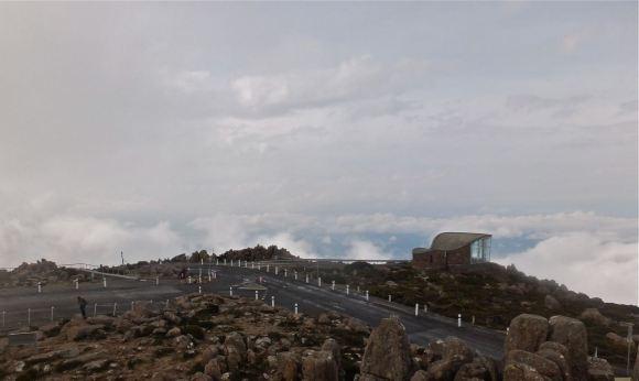 Mount Wellington summit, 8/4/13