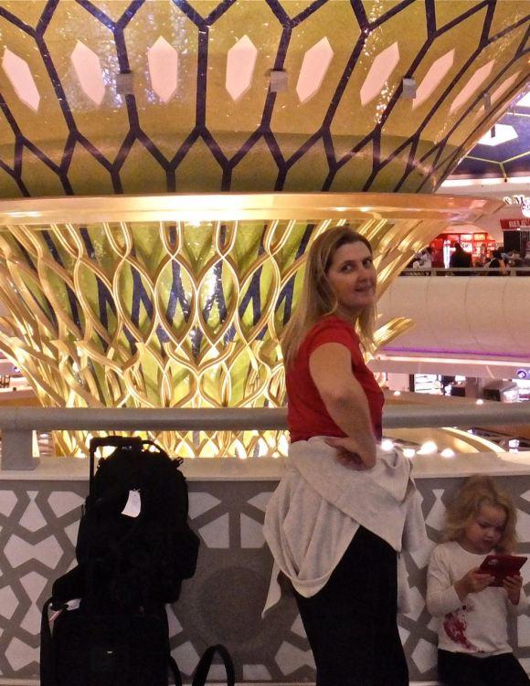 Abu Dhabi airport, 27/5/13