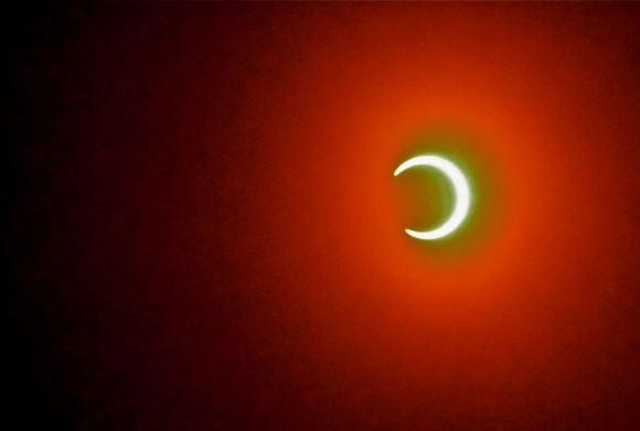 Annular eclipse, 10/5/13