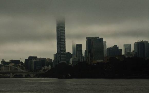 Brisbane clouds, 13/5/13