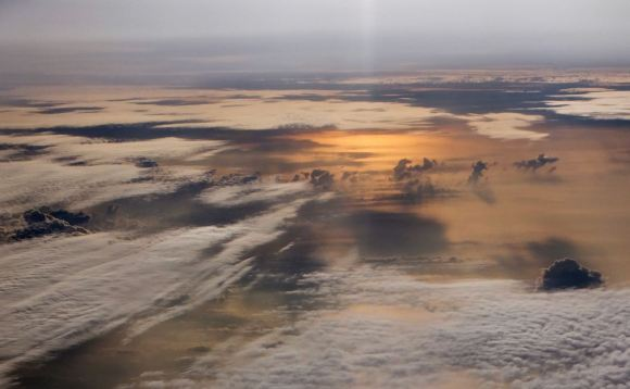 Pacific cloudscape, 24/5/13