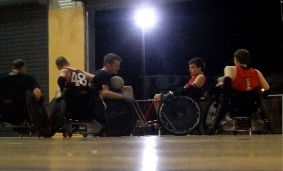 Wheelchair rugby, 14/5/13