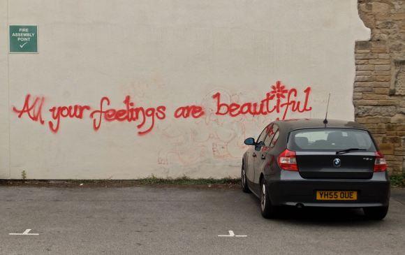 Happy graffiti, 17/6/13