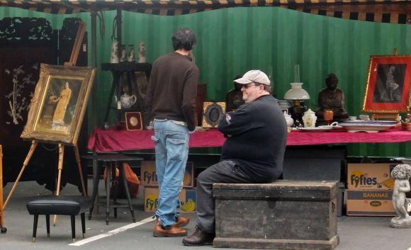 Hebden Bridge market, 19/6/13