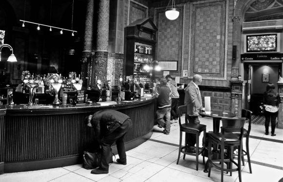 Newcastle station bar, 27/6/13