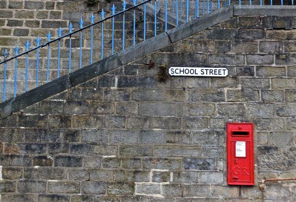 Bottom of School Street, 10/7/13