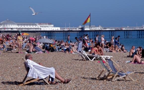 Brighton beach, 24/7/13