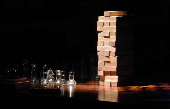 Chess v Jenga, 12/7/13