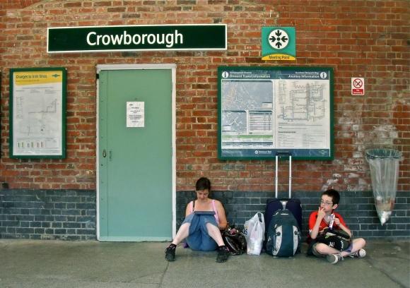 Crowborough station, 27/7/13
