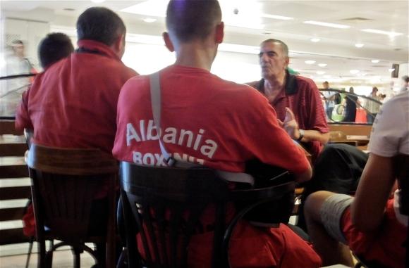 Albanian boxing team, 18/8/13