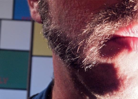 Drew's moustache, 26/11/13