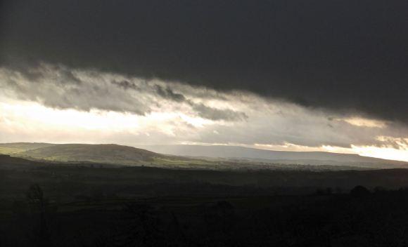 View from Scout Scar, 24/12/13