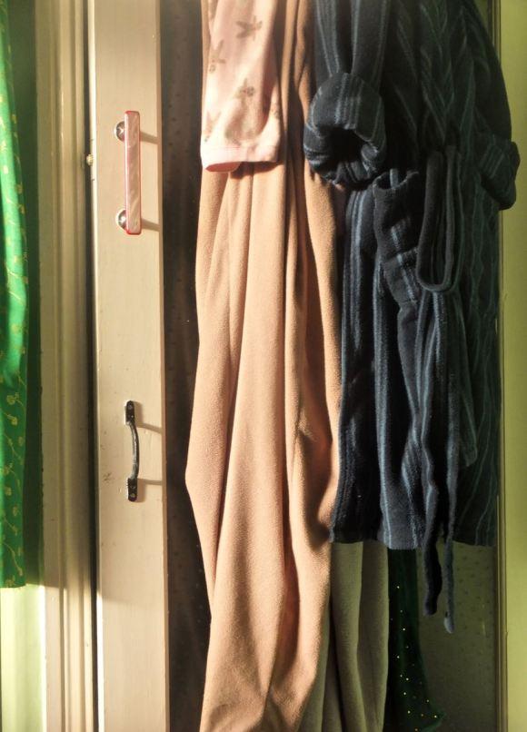 Bedroom door, 27/1/14