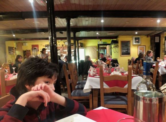 Joe, restaurant, 31/1/14