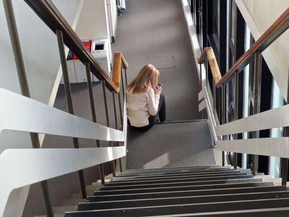 Stairwell, Ellen Wilkinson, 14/1/14
