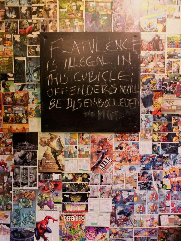 Flatulence, 19/3/14