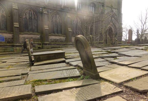 Heptonstall churchyard, 29/3/14