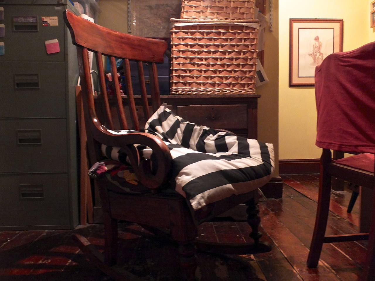 Rocking chair, 18/3/14