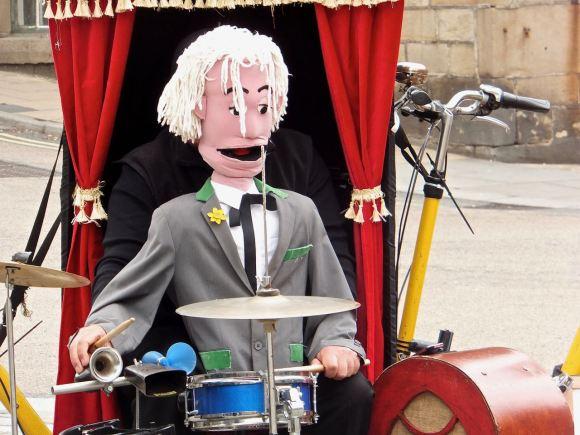 Drummer puppet, 27/4/14