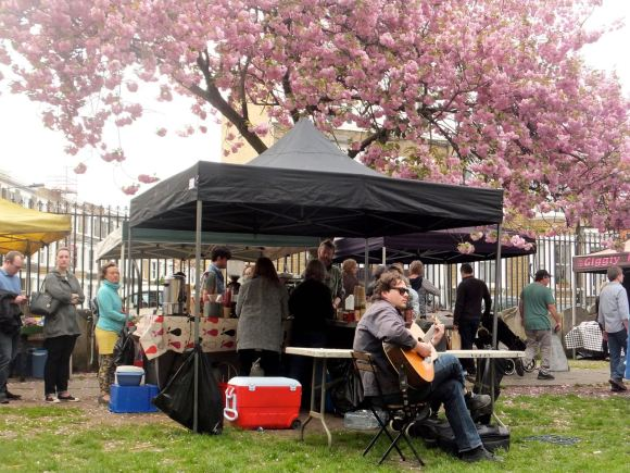 Oval farmers market, 12/4/14