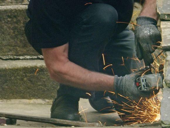 Angle grinding, 31/5/14