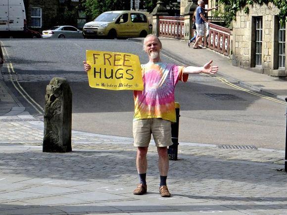 Free hugs, 1/6/14
