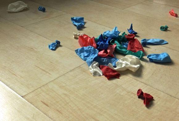 Burst balloons, 13/9/14