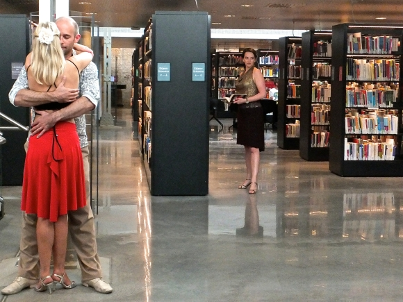 Tango in library, 26/9/14