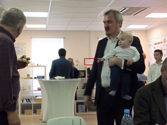 Pavel and child, 13/10/14