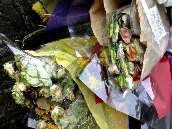 Memorial flowers, 19/11/14