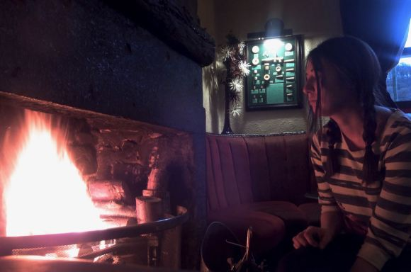Shelley and fire, 7/11/14