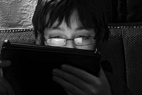 iPad boy, 7/12/14