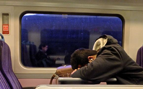 The train home, 8/12/14