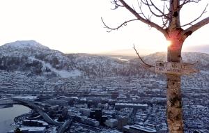 Mount Fløyen, 4/2/15