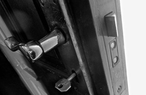 Broken lock, 11/4/15