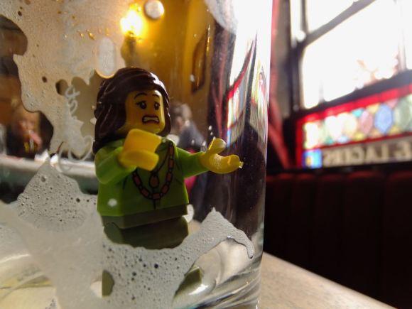 Lego lady, 24/5/15