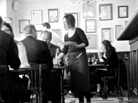 Parisian bistro, 28/5/15