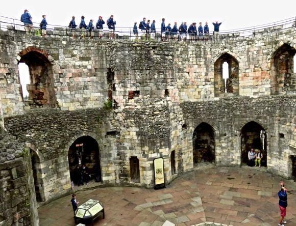 Americans at Cliffords Tower, 20/7/15