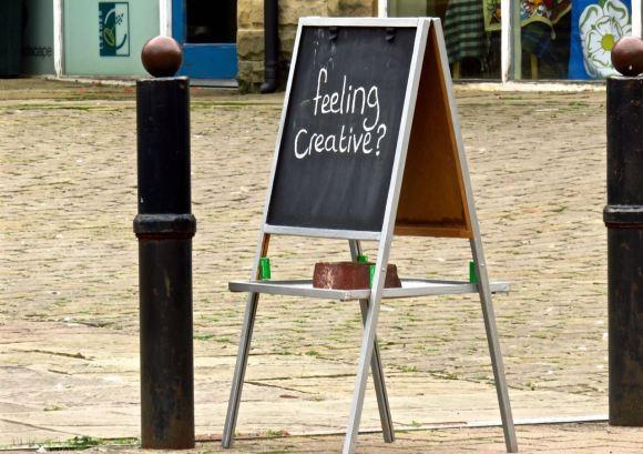 Creativity sign, 16/8/15